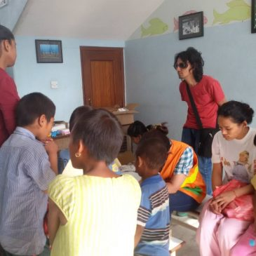Medical Help at Children's Home