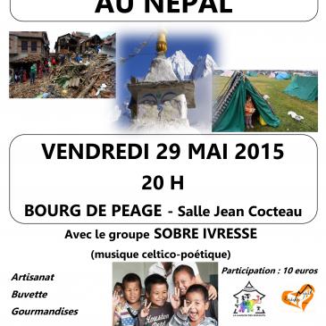 Soirée de Soutien au Népal