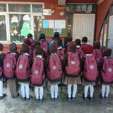 Des sacs pour Child Bright Future