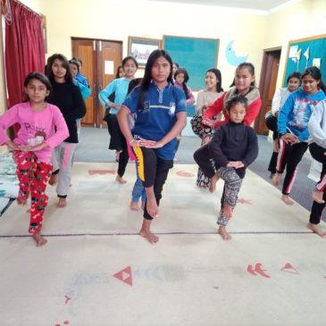 Activités des filles le 13 mars 2021